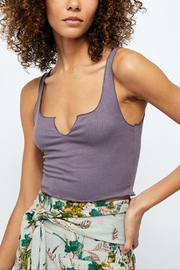 Free People Top Notch Crop - Front cropped