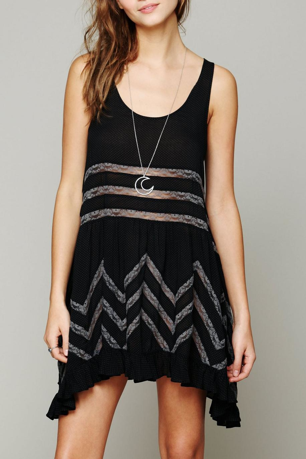 Free People Trapeze Lace Slip Dress - Main Image
