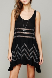 Free People Trapeze Lace Slip Dress - Product Mini Image