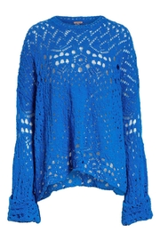 Free People Traveling Lace Sweater - Other