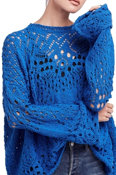 Shoptiques Product: Traveling Lace Sweater
