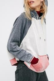 Free People Tri Color Hoodie - Product Mini Image