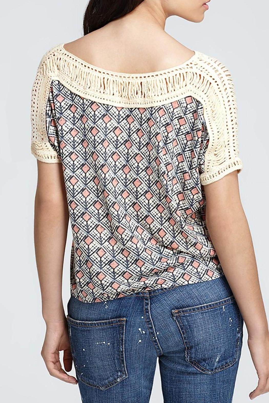 Free People Tribal Grunge Top - Front Full Image