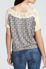 Free People Tribal Grunge Top - Front full body