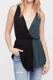 Free People Two Tone Tank - Product Mini Image
