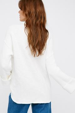 Shoptiques Product: V Neck Cotton Sweater