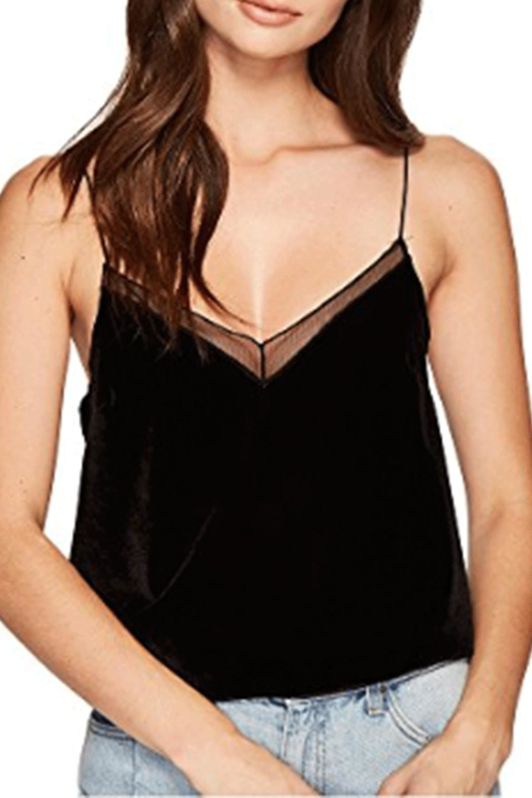 Free People Velvet Solid Tank - Main Image