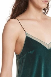 Free People Velvet Tank Top - Back cropped
