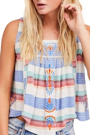 Free People Vintage Stripe Tank - Product Mini Image