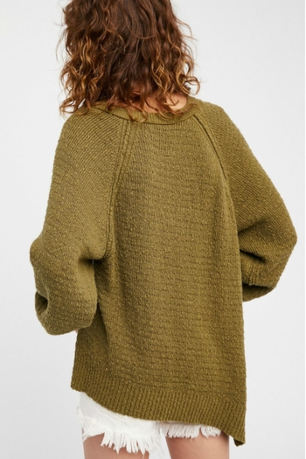 Free People West Coast Pullover - Back Cropped Image