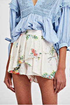 Shoptiques Product: White Floral Skort