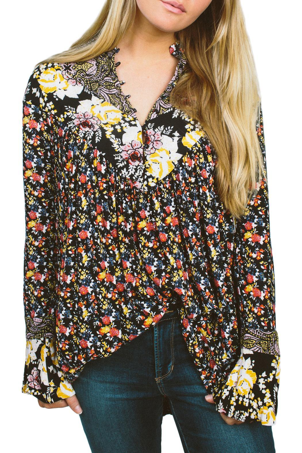 Free People Wildflower Fields Tunic - Front Cropped Image