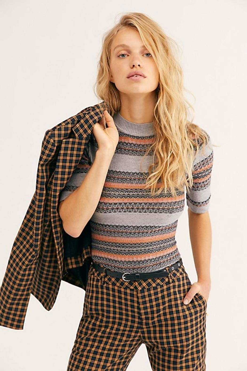 Free People Winter Warmer Bodysuit - Front Cropped Image