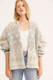 Free People Winter Wonderland Cardi - Front cropped