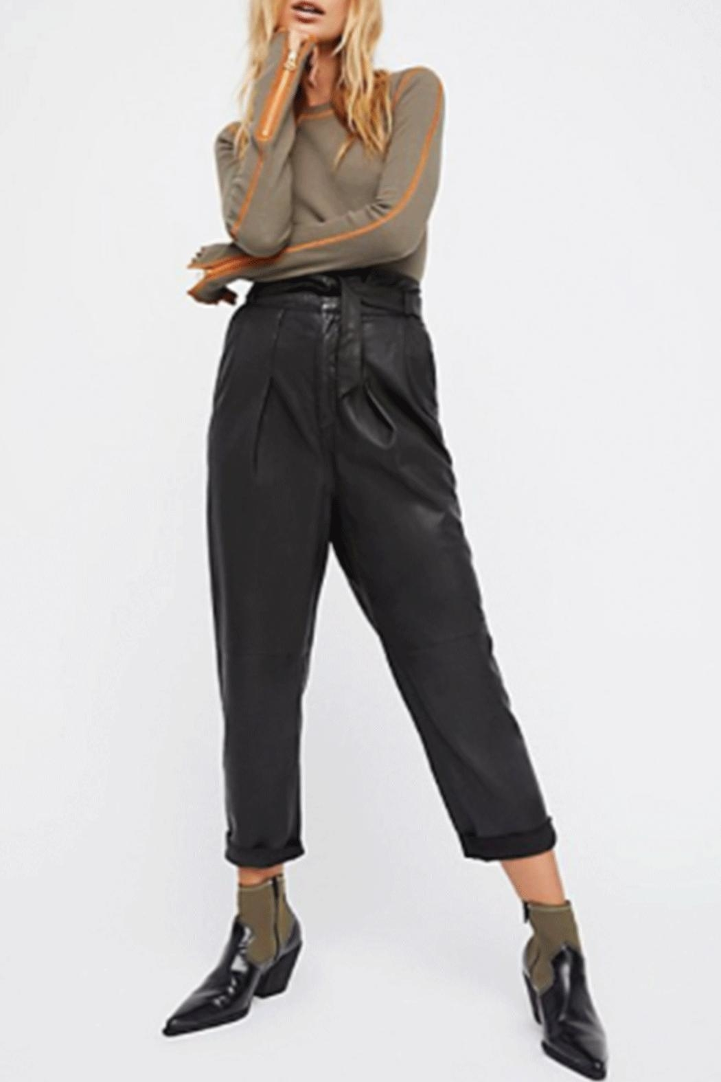Free People Zip It Cuff - Front Cropped Image