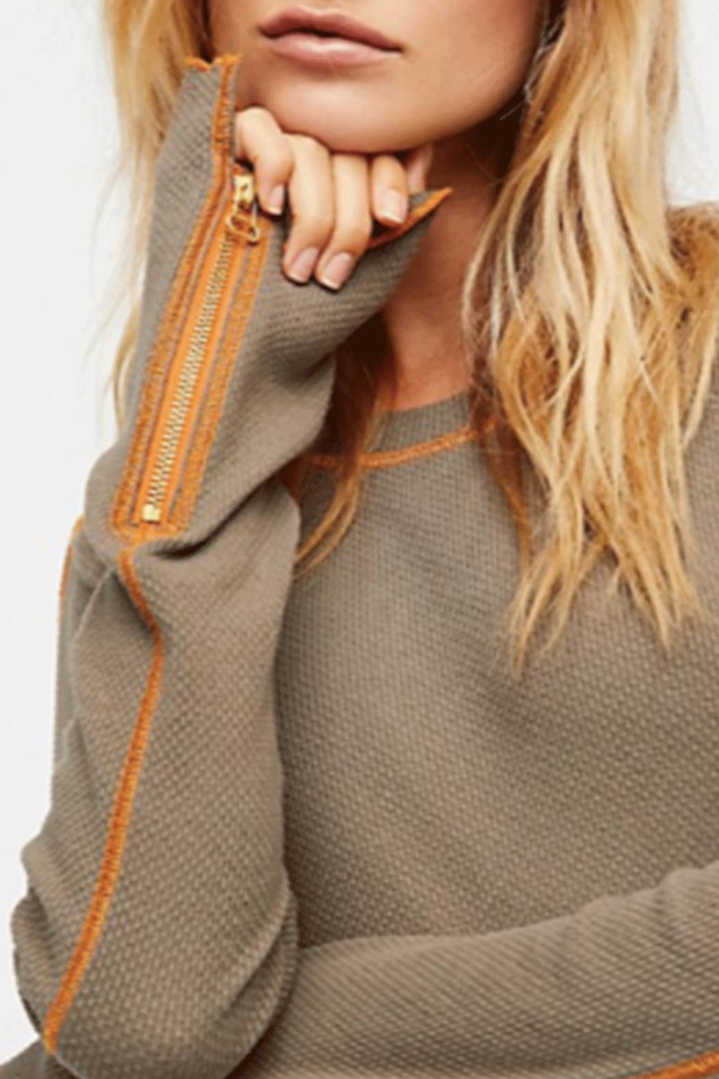 Free People Zip It Cuff - Side Cropped Image