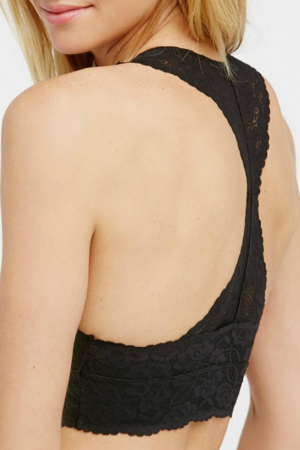 Free People Lace Racerback Bra - Front Full Image