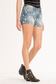Miss Me Freedom Stars Midrise-Shorts - Front full body