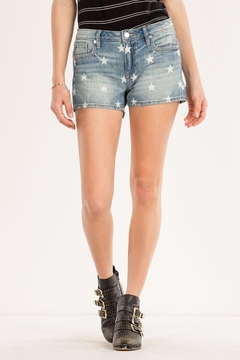 Miss Me Freedom Stars Midrise-Shorts - Product List Image