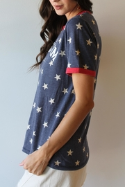 THE LIGHT BLONDE Freedom Tee - Front full body