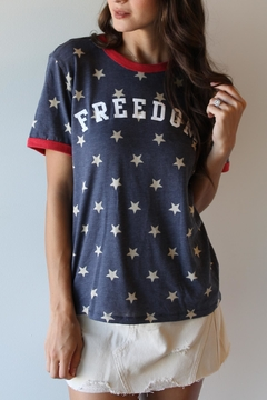 THE LIGHT BLONDE Freedom Tee - Product List Image