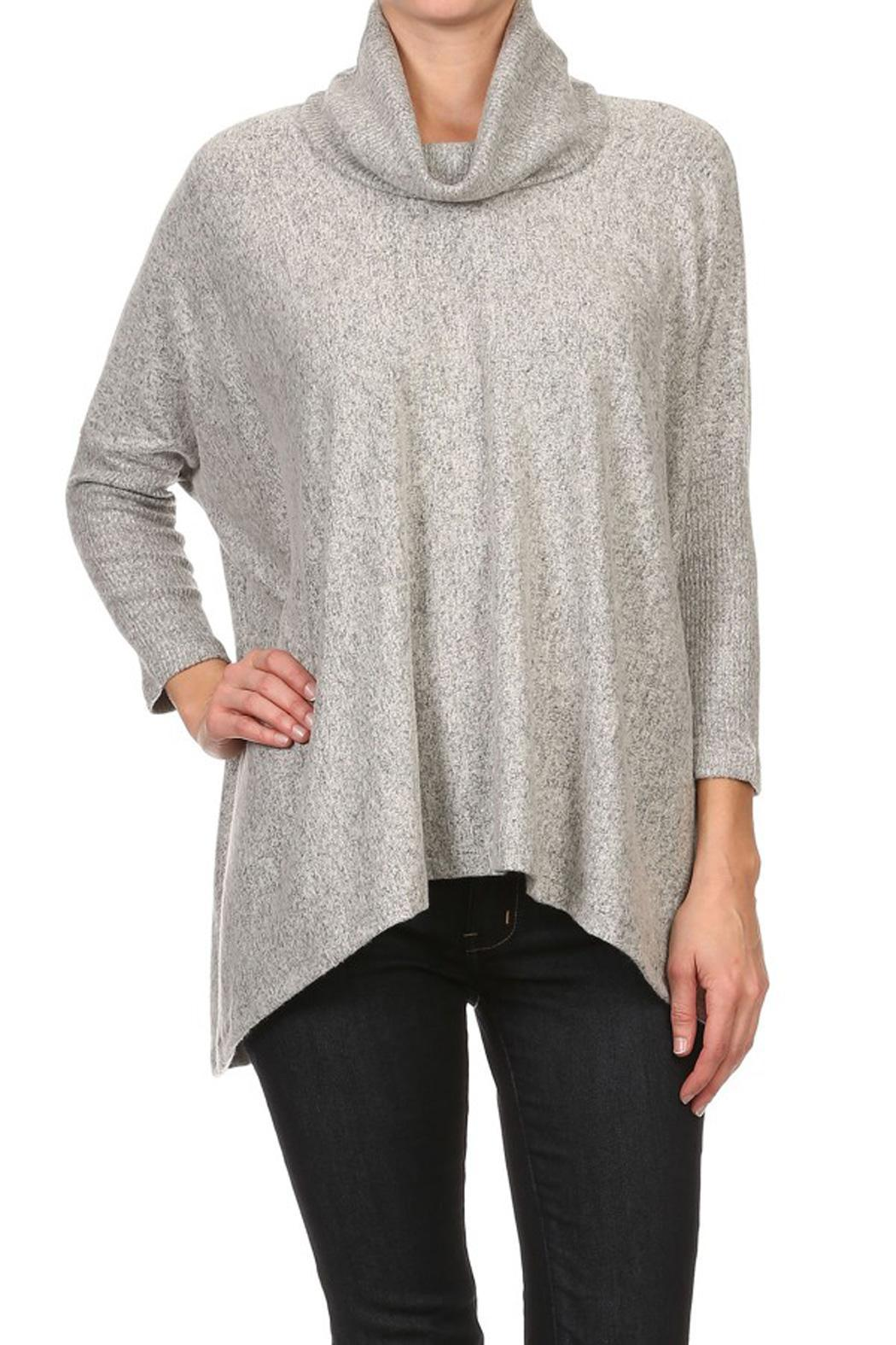 Freeloader Cowl Neck Sweater from New Jersey by Making Waves ...