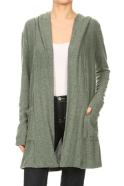 Freeloader Jersey Hoodie Cardigan - Product Mini Image