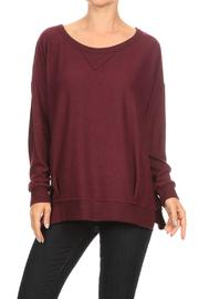 Freeloader Pull Over Sweater - Product Mini Image