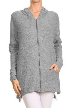 Shoptiques Product: Soft Oversized Hoodie