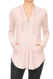 Freeloader Soft Zip Hoodie-Tunic - Product Mini Image