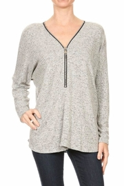 Freeloader Zip Front Tunic - Product Mini Image