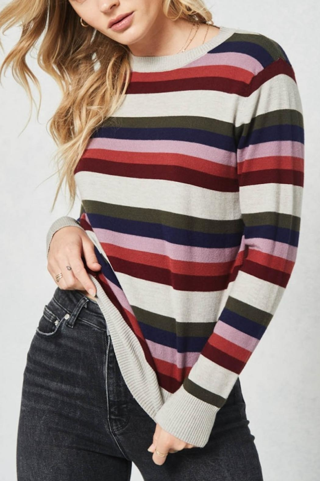 Promesa USA Freeport Sweater - Front Cropped Image