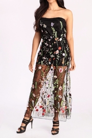 Freesia Sheer Floral Maxi - Product Mini Image