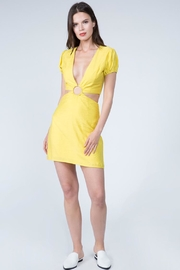 FANCO Freesia Yellow Dress - Product Mini Image