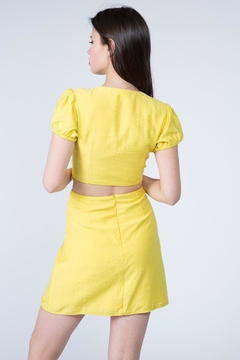FANCO Freesia Yellow Dress - Alternate List Image