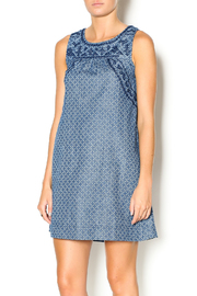 Freeway Apparel Chambray Tunic Dress - Product Mini Image