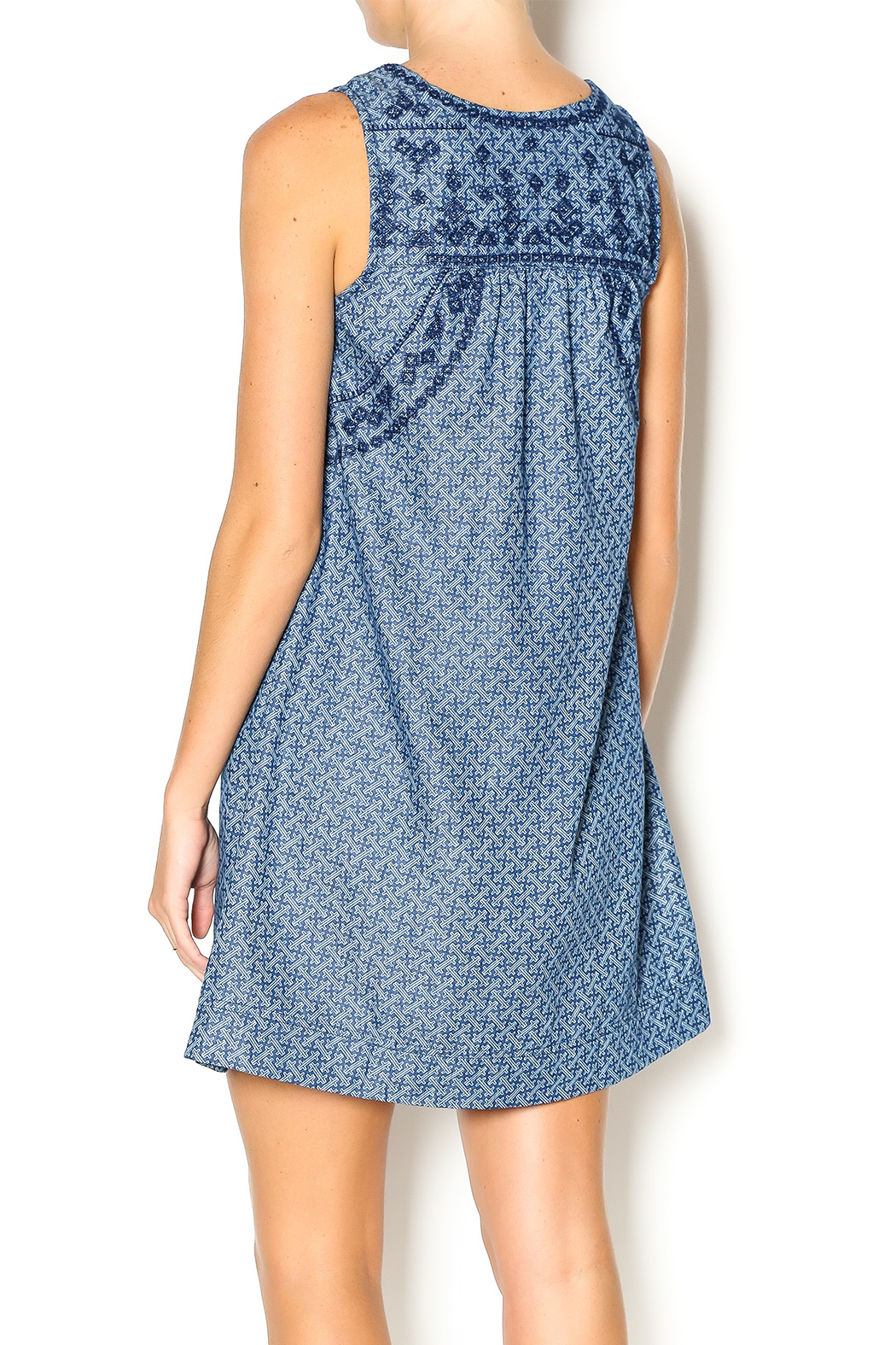 Freeway Apparel Chambray Tunic Dress from Michigan by Sparrow ...