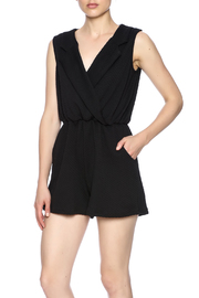 Freeway Black Romper - Front cropped