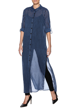 Shoptiques Product: Checkered Maxi Tunic