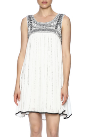 Freeway Embroidered Sleeveless Dress - Product Mini Image