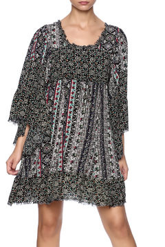 Shoptiques Product: Multi Print Peasant Dress