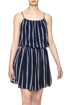Shoptiques Product: Navy Striped Dress