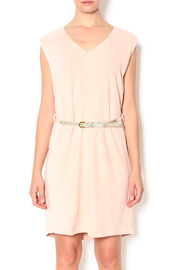 Freeway Pink Faux Suede Dress - Product Mini Image