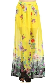 Freeway Printed Maxi Skirt - Product Mini Image