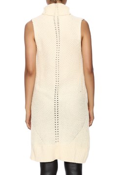 Shoptiques Product: Sleeveless Cream Knit Top
