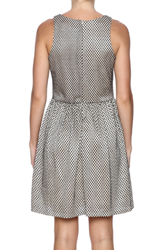 Shoptiques Product: Textured Pleated Dress