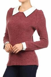 Freeway Apparel Collared Sweater - Product Mini Image