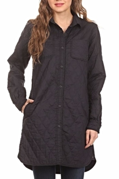 Freeway Apparel Quilted Collared Jacket - Product List Image