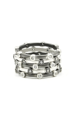 Freida Rothman  Bezel Ring Set - Alternate List Image
