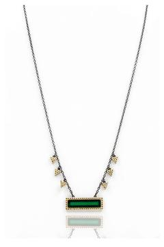 Shoptiques Product: Green Bar Pendant